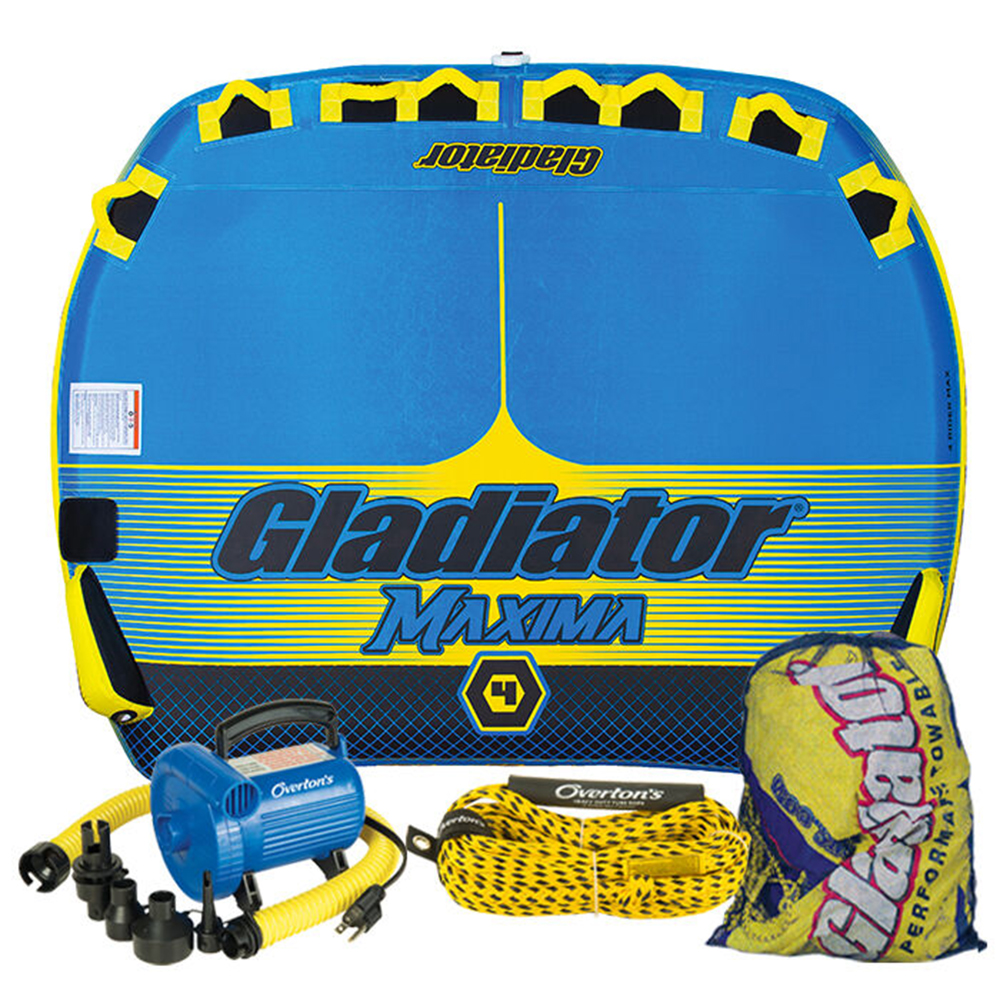 Gladiator Maxima 4 Package w/ Rope & Pump
