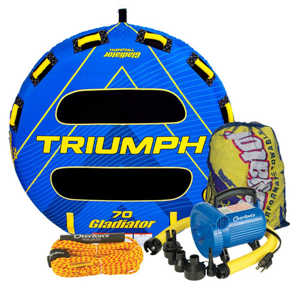 Gladiator Triumph 2 Package w/ Rope & Pump