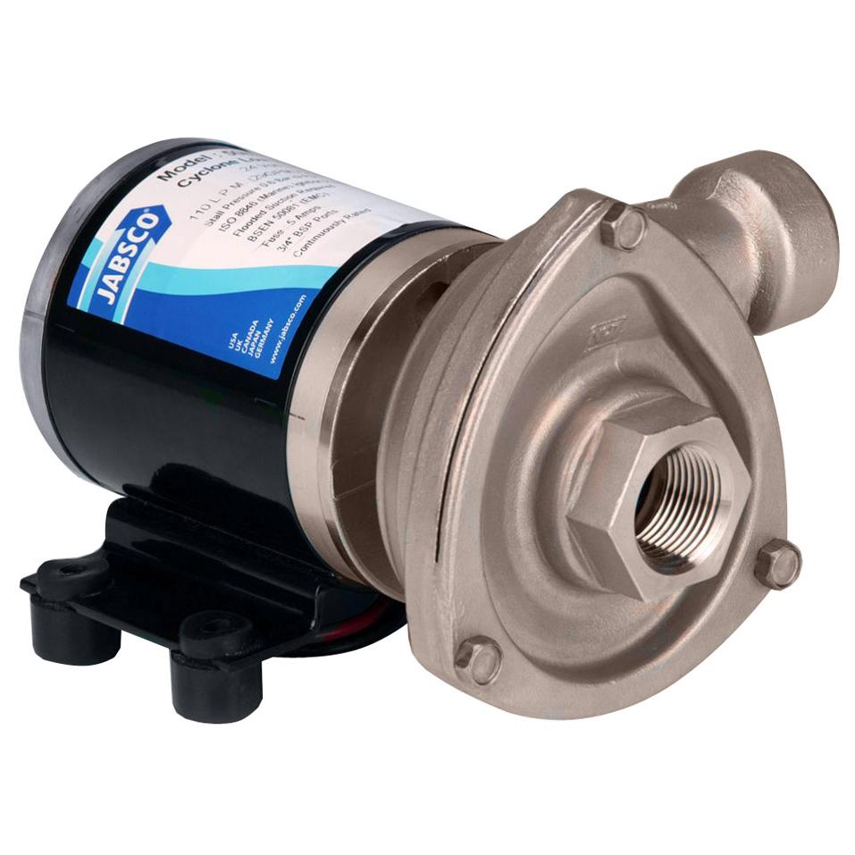 Jabsco 12V Low Pressure Cyclon Centrifugal Pump photo