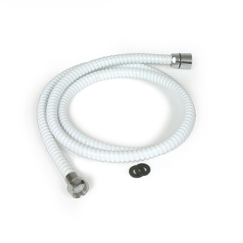 RV/Marine Shower Flex Hose - White