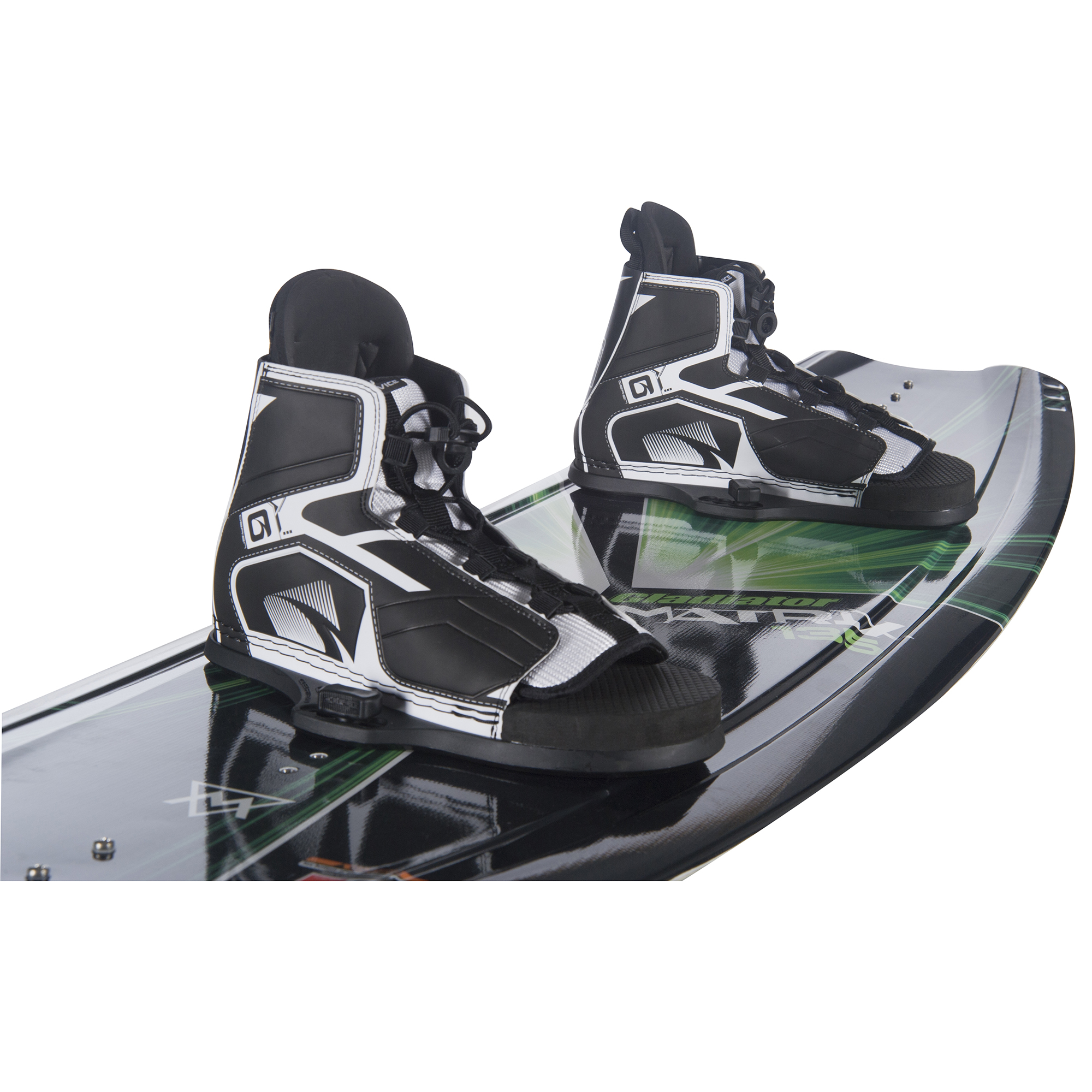 Gladiator Matrix Wakeboard With Device Bindings