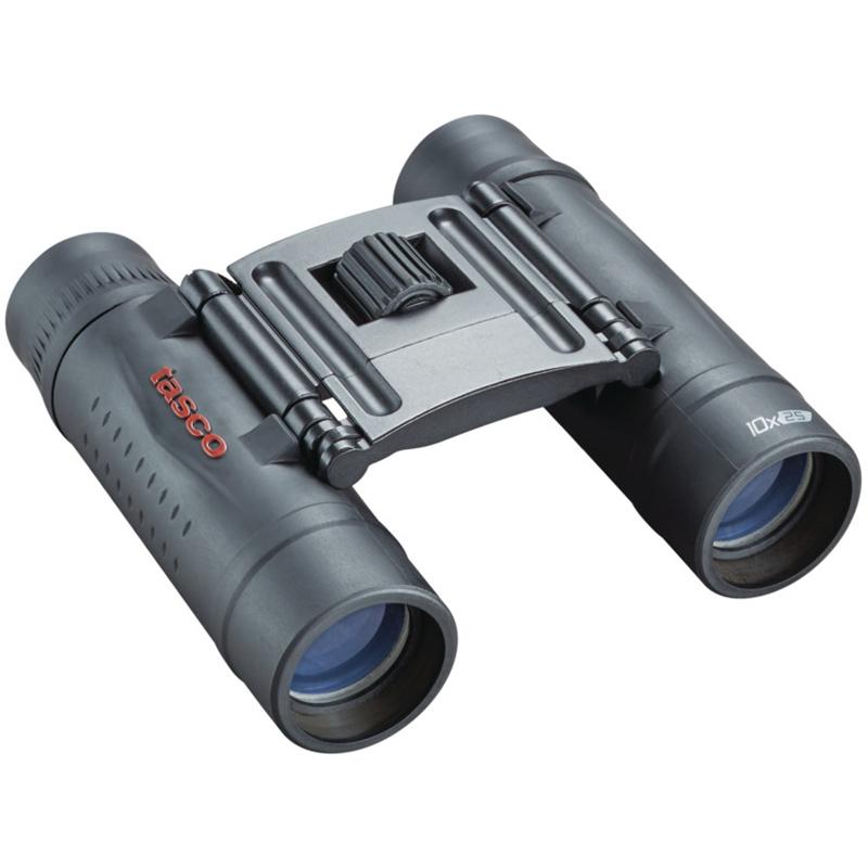 Tasco 10x25 Essentials Roof Binoculars, Black