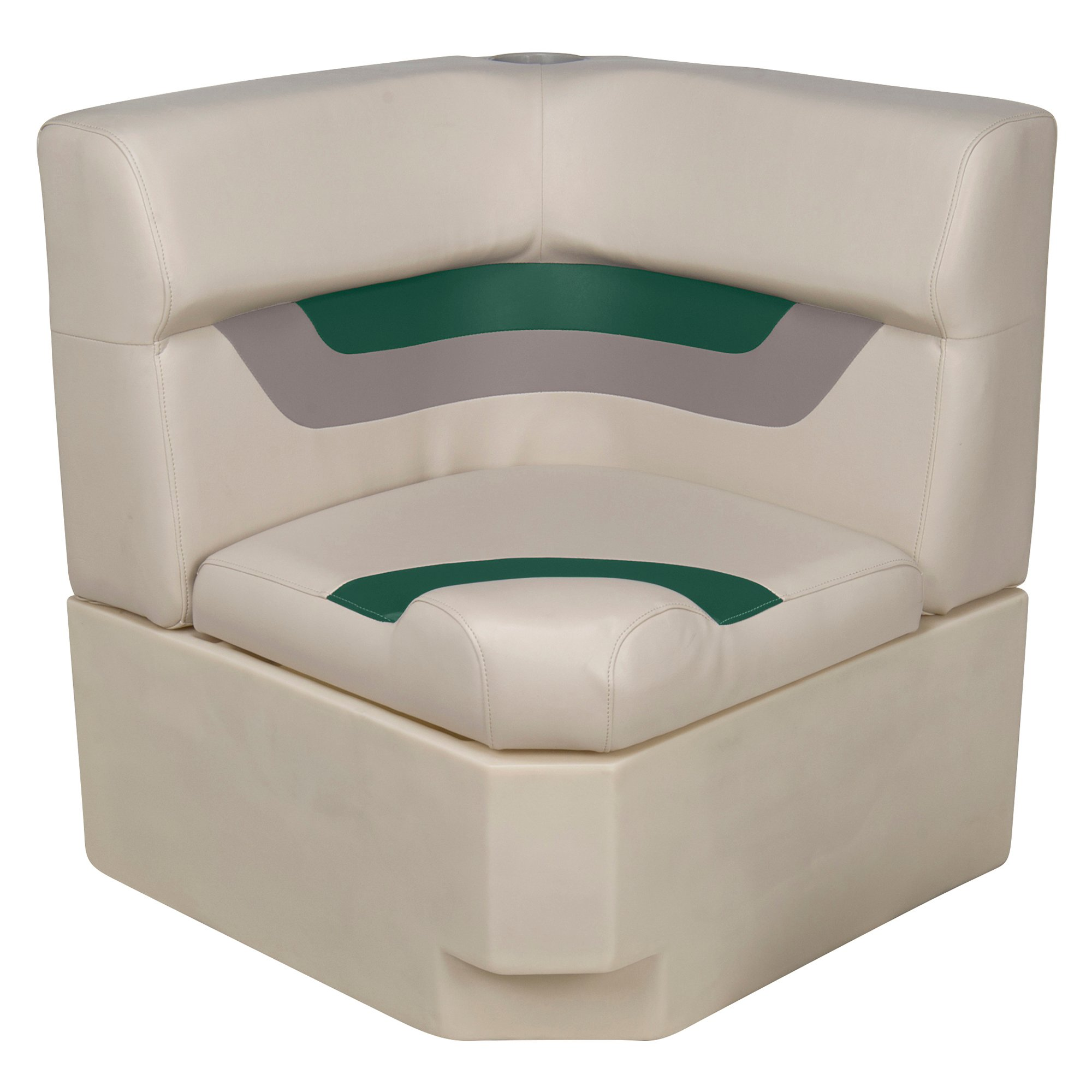 Toonmate Designer Pontoon Corner Section Seat - TOP ONLY