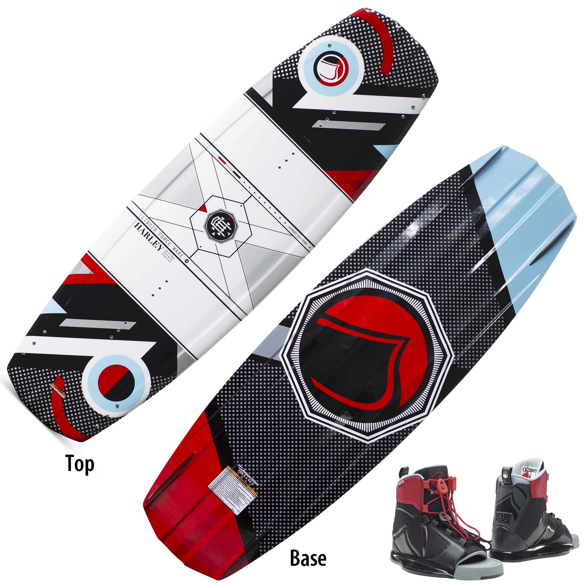 Liquid Force Harley Classic Wakeboard With Index Bindings
