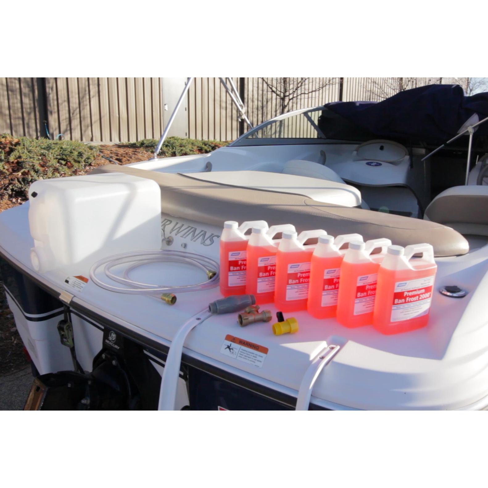 Do-It-Yourself Boat Winterizer Kit with Antifreeze