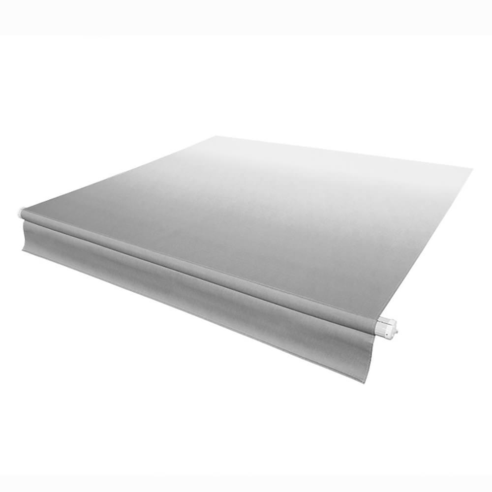 Solera RV Awning Silver Fade with White Weather Guard, 21 -  LIPPERT, V000324185