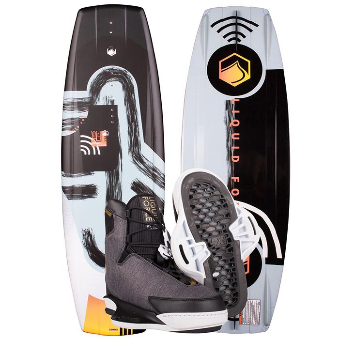 Liquid Force M.E. Wakeboard with Vida 6X Bindings