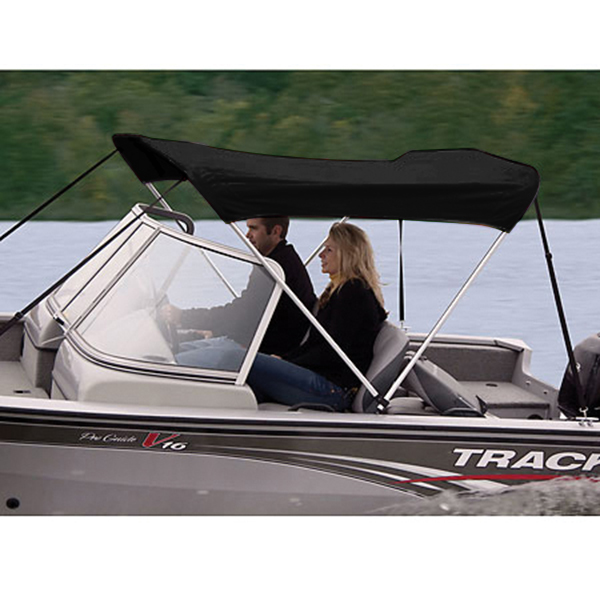 """Shademate Bimini Top Polyester Fabric/Boot Only, 2-Bow 5'6""""L x 42""""H, 54""""-60""""W"""