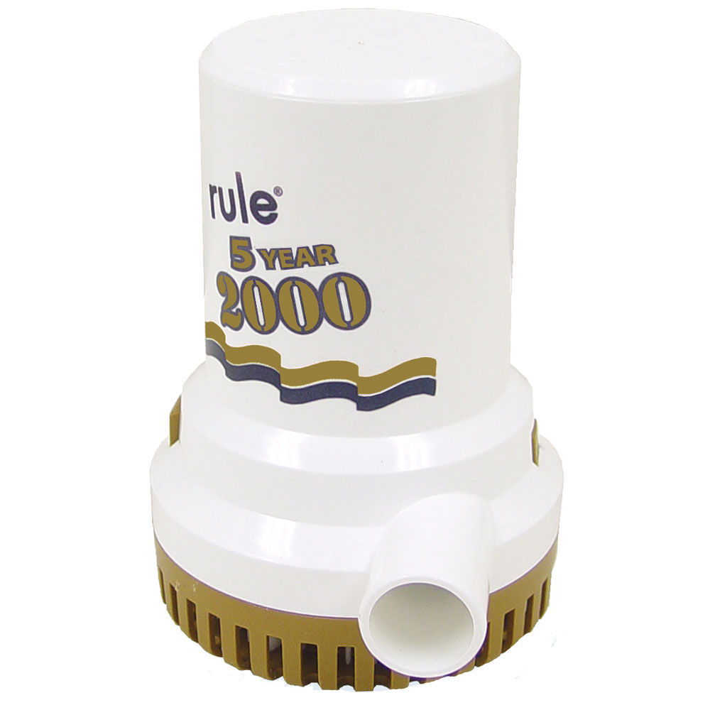 Rule 2000 Gold Series Bilge Pump photo