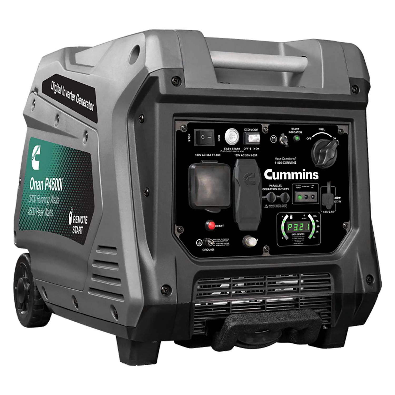 Cummins Onan P4500i Inverter Portable Generator A058U955