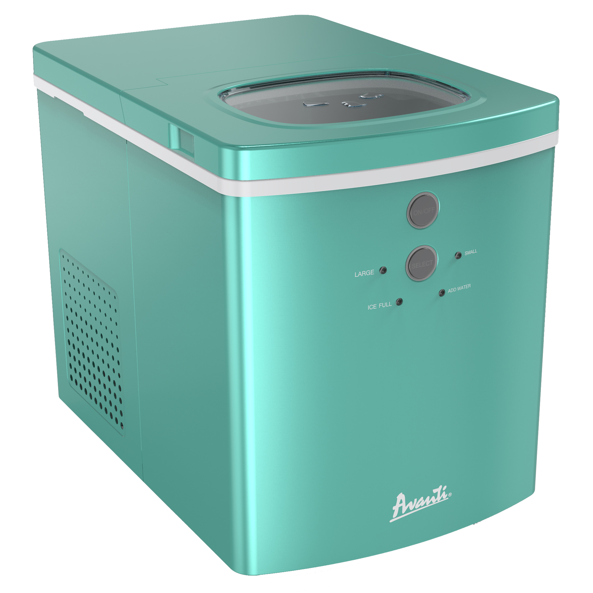 Avanti Portable Countertop Ice Maker, Aqua photo