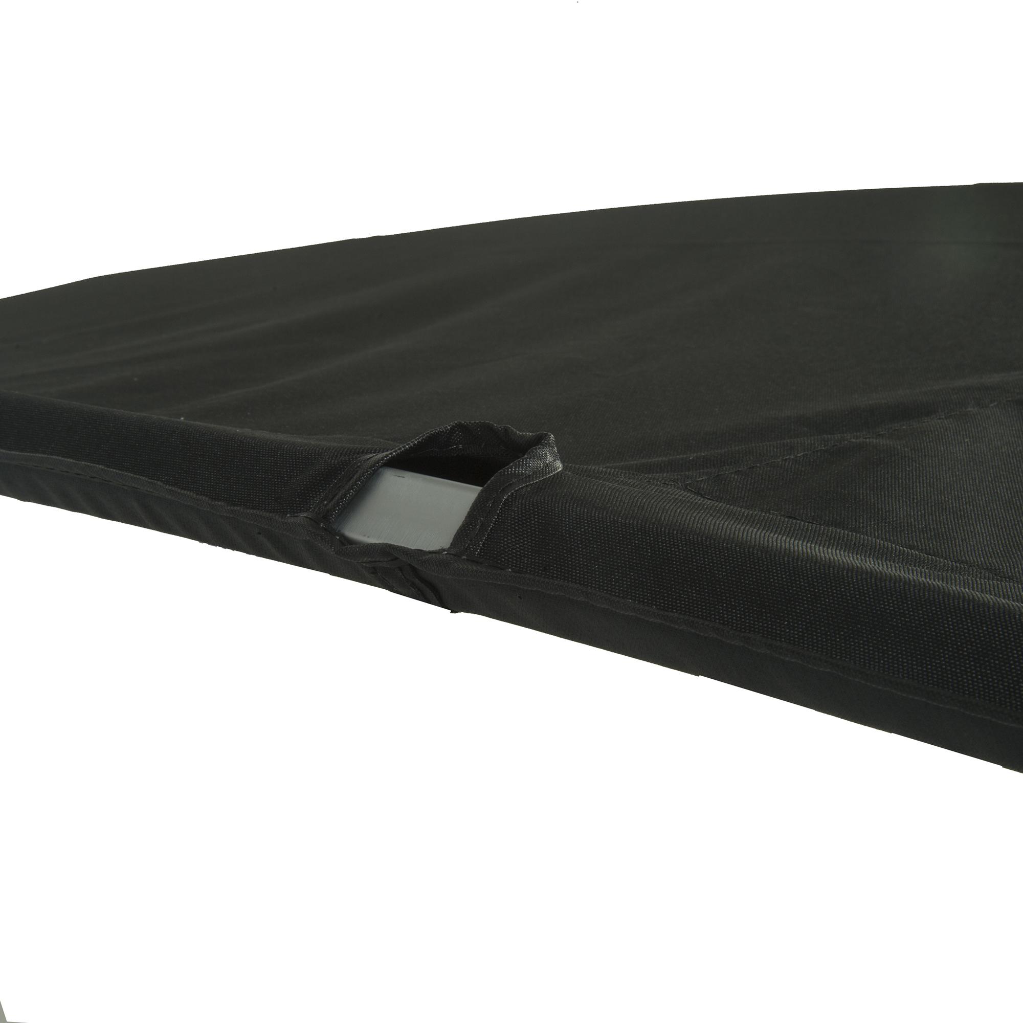 "Traditional Pontoon Bimini Top, SurLast Polyester, 1-1/4"" Free Standing 90""-96""W"
