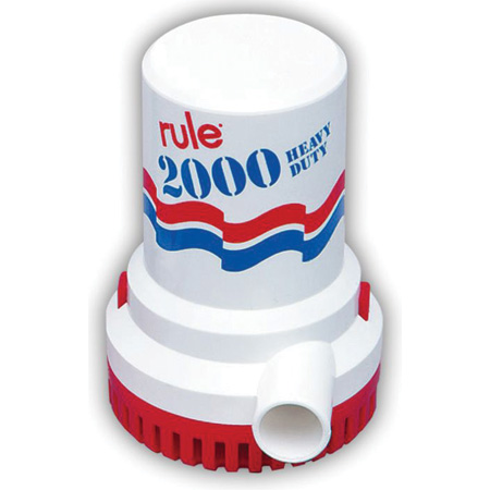 Rule Submersible Bilge Pump 10 - 2000 GPH photo