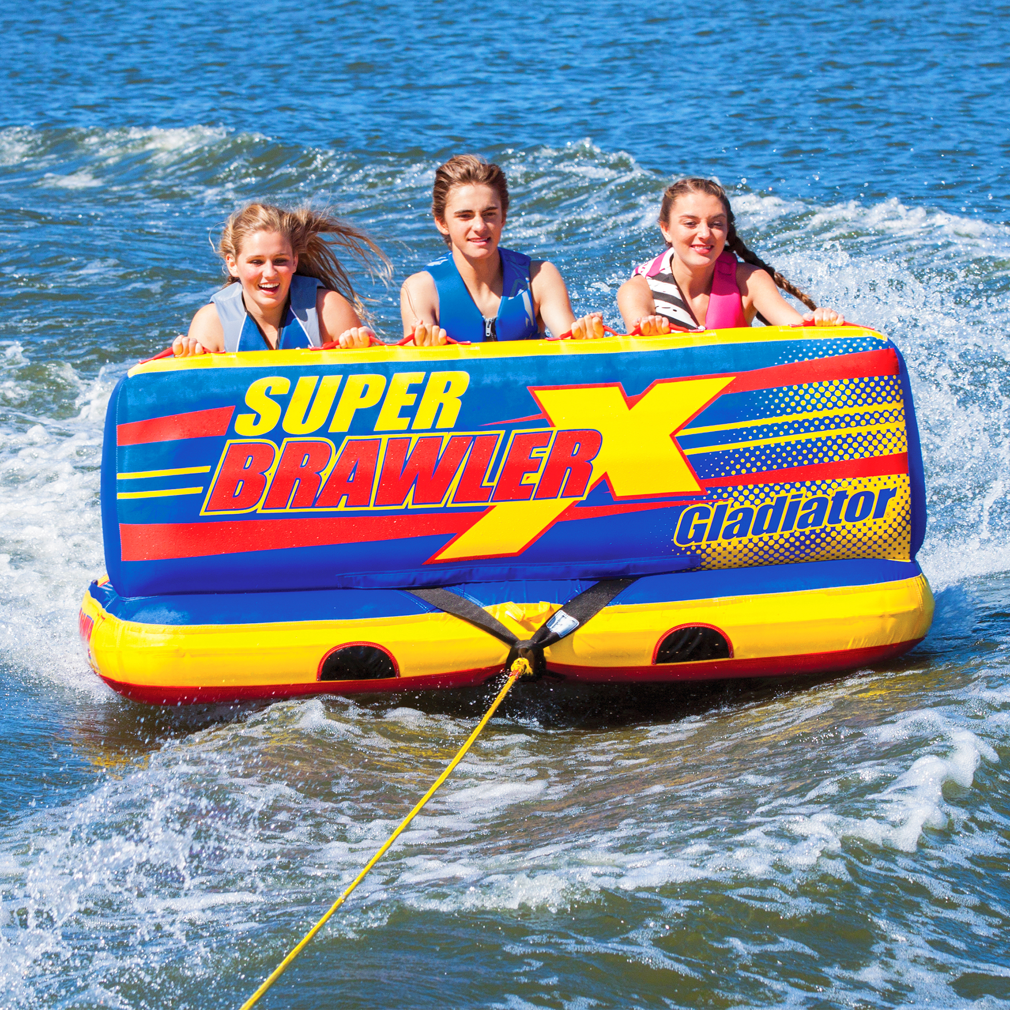 Gladiator Super Brawler X 3-Person Towable Tube Package